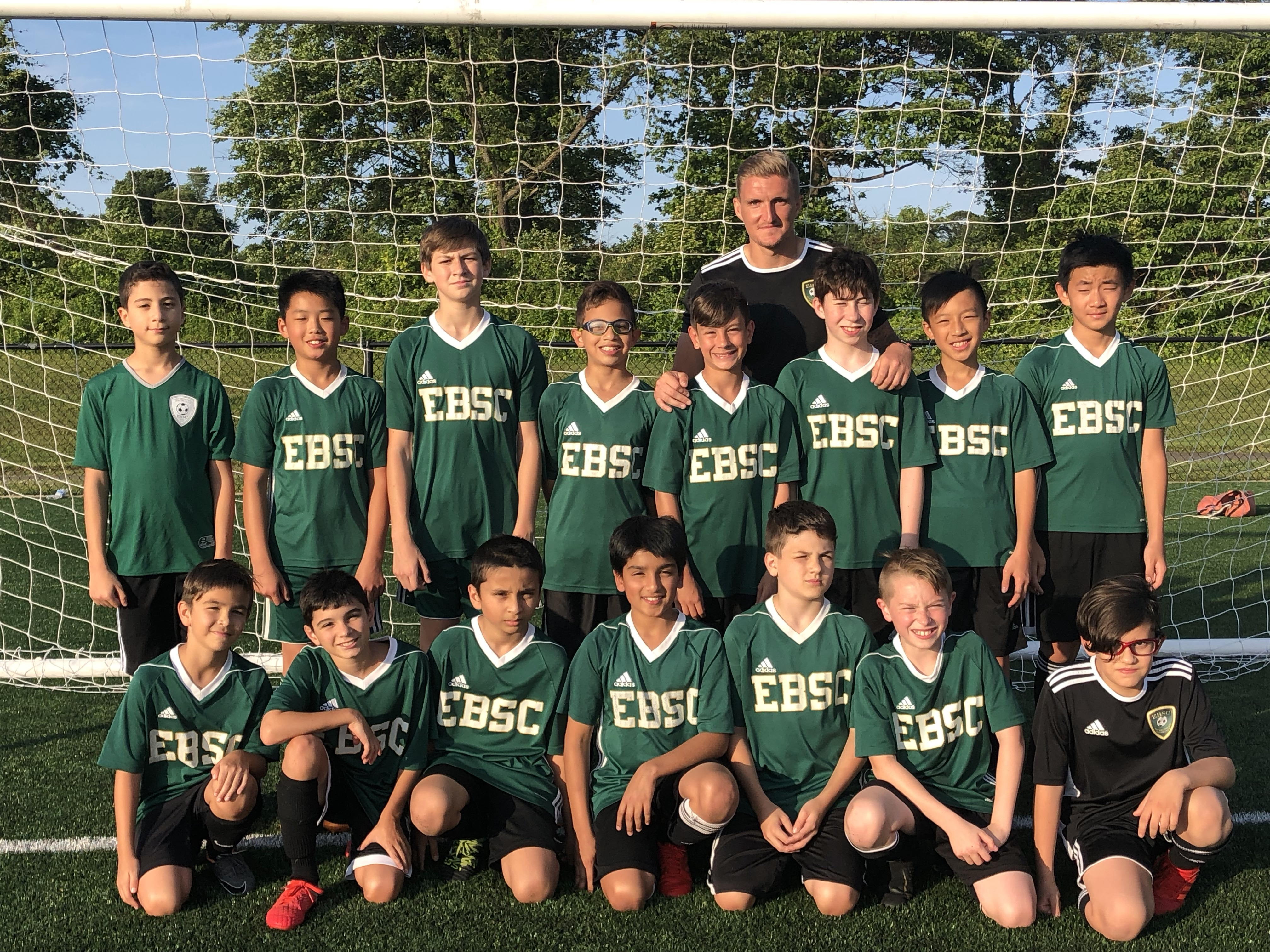 Congratulations to Coach Gary and the U12 Boys