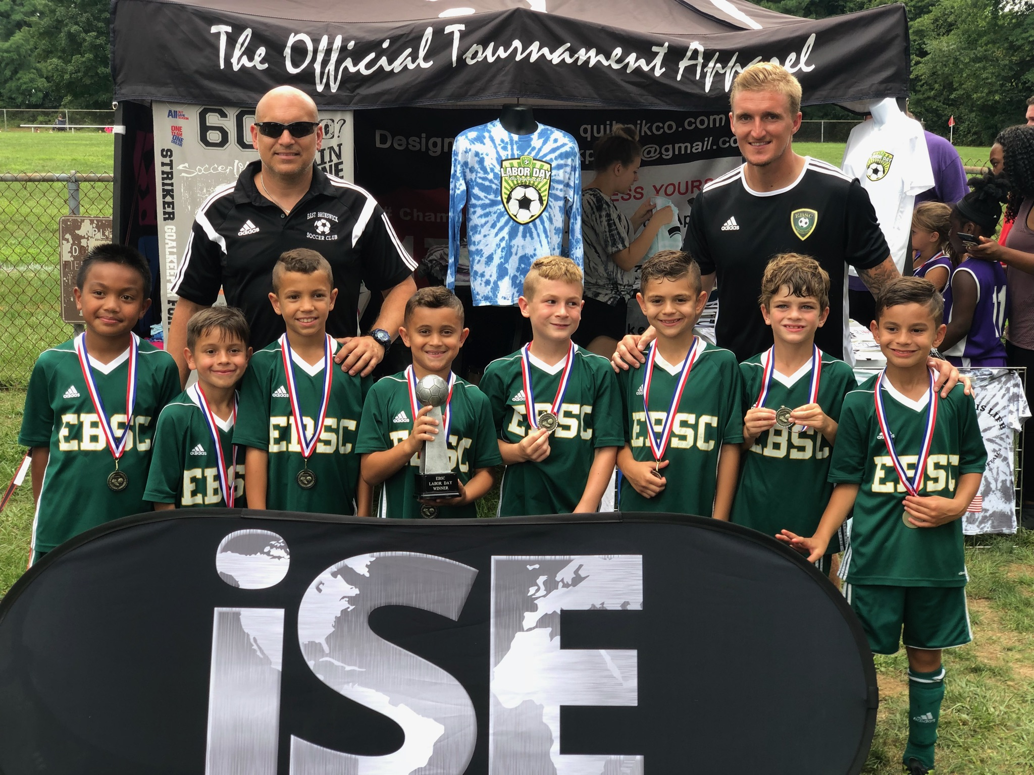 Congratulations to EBSC 2010 Barcelona Boys 2018 East Brunswick Labor Day Tournament Champions